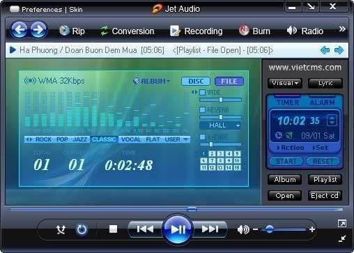 Cowon JetAudio 8.0.12.1700 скачать